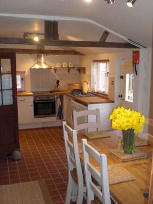 Sherwood forest Holiday Cottage kitchen