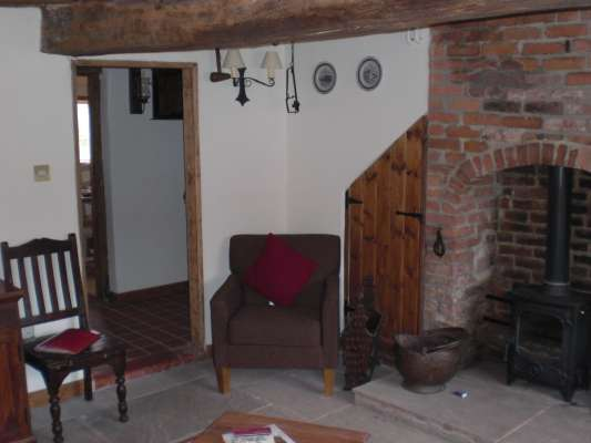 Sherwood forest Holiday Cottage living room