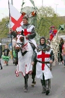 Sherwood Forest Cottages: St George's Day Celebration